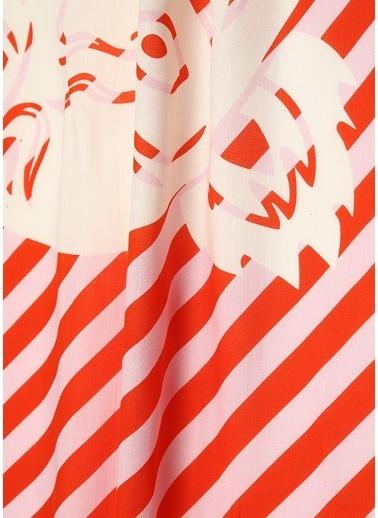 Kenzo Fular Kırmızı